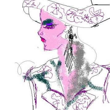 mujer-con-sombrero